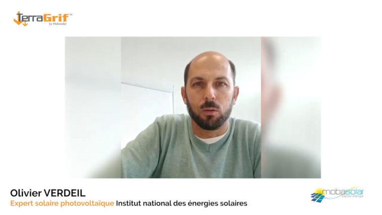 Zeugnis von INES, Nationales Institut für Solarenergie